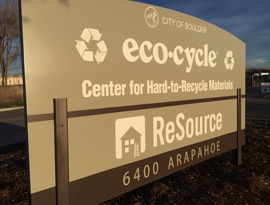 Eco-Cycle Offices and CHaRM: Center for Hard-to-Recycle Materials at 6400 Arapahoe